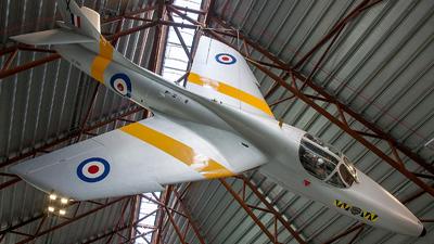XL568 - Hawker Hunter T.7A - United Kingdom - Royal Air Force (RAF)