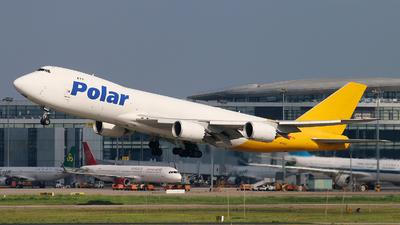 A picture of N858GT - Boeing 74787U(F) - DHL - © cmqmc