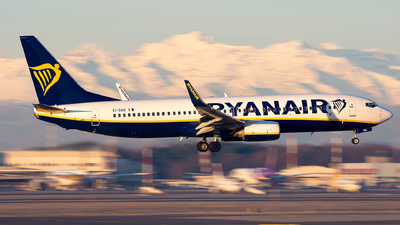 A picture of EIDAG - Boeing 7378AS - Ryanair - © Alessandro Maggia