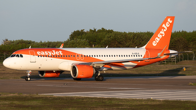 G-UZLG - Airbus A320-251N - easyJet
