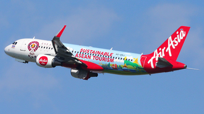 A picture of HSBBJ - Airbus A320216 - AirAsia - © Woody Wuthiwong