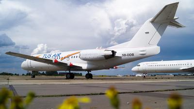 A picture of 5BDDB - Fokker 70 - [11561] - © Martin Le Penven