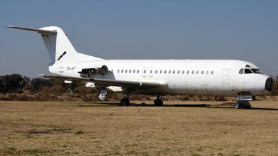 ZS-JES - Fokker F28-4000 Fellowship - Airquarius Aviation