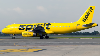 N611NK - Airbus A320-232 - Spirit Airlines