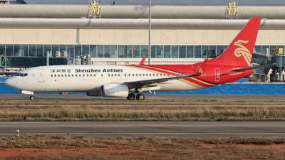 B-1377 - Boeing 737-87L - Shenzhen Airlines