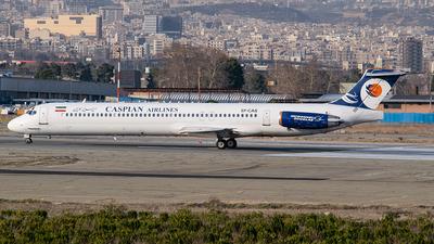EP-CAS - McDonnell Douglas MD-83 - Caspian Airlines