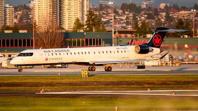 C-GJZT - Bombardier CRJ-900LR - Air Canada Express (Jazz Aviation)