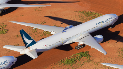 A picture of BKPF - Boeing 777367(ER) - Cathay Pacific - © Yohane