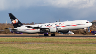 A picture of CGYAJ - Boeing 76735E(ER)(BCF) - Cargojet Airways - © Jesse Vervoort