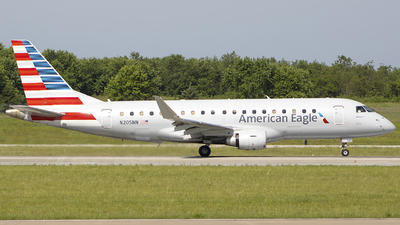 A picture of N205NN - Embraer E175LR - American Airlines - © Andrew Hutnyan