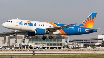 A picture of N285NV - Airbus A320214 - Allegiant Air - © Saul Hannibal