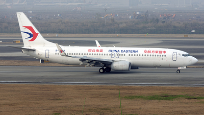 A picture of B6249 - Boeing 73789P - China Eastern Airlines - © BCG554