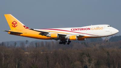 N901AR - Boeing 747-4R7F(SCD) - Centurion Air Cargo