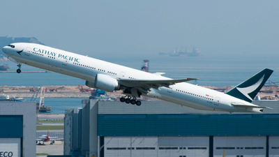 B-KPR - Boeing 777-367ER - Cathay Pacific Airways