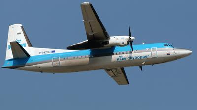 PH-KVK - Fokker 50 - KLM Cityhopper