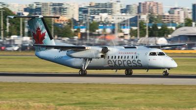 C-FADF - Bombardier Dash 8-311 - Air Canada Express (Jazz Aviation)