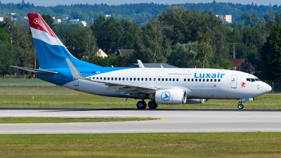 LX-LGS - Boeing 737-528 - Luxair - Luxembourg Airlines