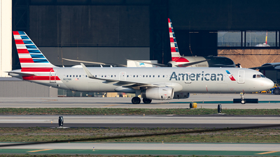 N123NN - Airbus A321-231 - American Airlines