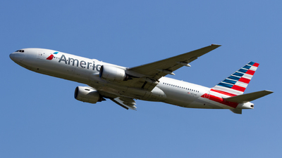 A picture of N777AN - Boeing 777223(ER) - American Airlines - © Ethan Hew - p_nilly