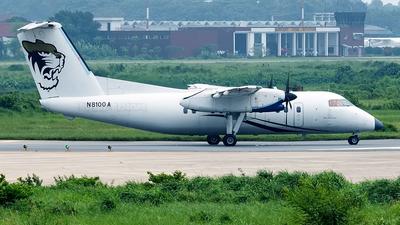 A picture of N8100A - De Havilland Canada Dash 8100 - [225] - © Murad Hashan