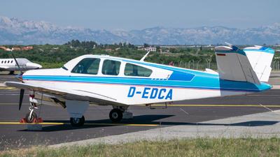 D-EDCA - Beechcraft V35B Bonanza - Private
