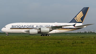 F-WWAQ - Airbus A380-841 - Singapore Airlines