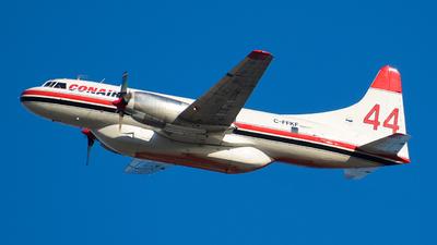 A picture of CFFKF - Convair CV580 - Conair - © Santiago Arias