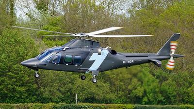 G-THDR - Agusta-Westland AW-109SP GrandNew - Thunder Aviation