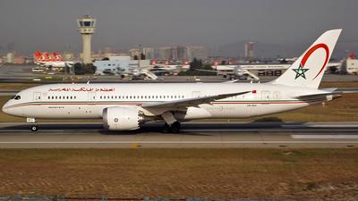 CN-RGS - Boeing 787-8 Dreamliner - Royal Air Maroc (RAM)