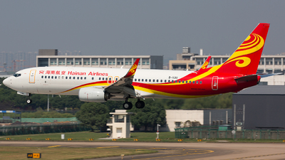 A picture of B1130 - Boeing 73784P - Hainan Airlines - © TommyNGB
