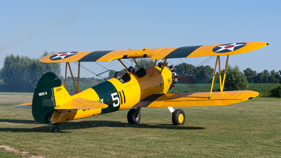 N4410 - Boeing A75N1 Stearman - Private