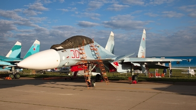 RF-81698 - Sukhoi Su-30SM - Russia - Air Force