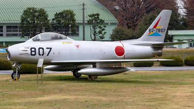 82-7807 - North American F-86F Sabre - Japan - Air Self Defence Force (JASDF)