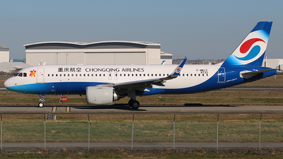 F-WWIY - Airbus A320-251N - Chongqing Airlines