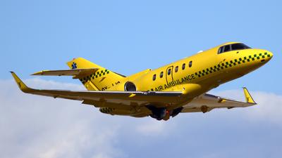 OY-JJC - Hawker Beechcraft 800XP - Sun-Air of Scandinavia