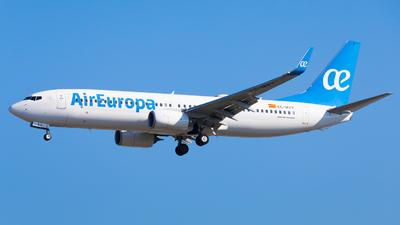 A picture of ECMVY - Boeing 73785P - Air Europa - © Martin Rogosz