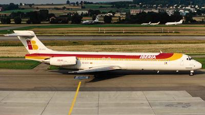 EC-EYY - McDonnell Douglas MD-87 - Iberia