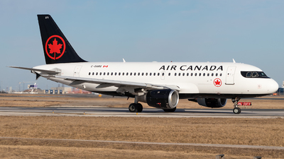 A picture of CGARG - Airbus A319114 - Air Canada - © Xinyu Wu