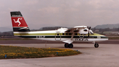 G-BEJP - De Havilland Canada DHC-6-300 Twin Otter - Manx Airlines