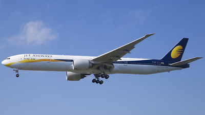 VT-JET - Boeing 777-35RER - Jet Airways