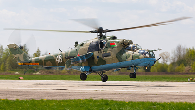 48 - Mil Mi-24R Hind D - Belarus - Air Force