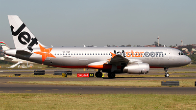 VH-VGT - Airbus A320-232 - Jetstar Airways