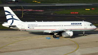 SX-DGC - Airbus A320-232 - Aegean Airlines