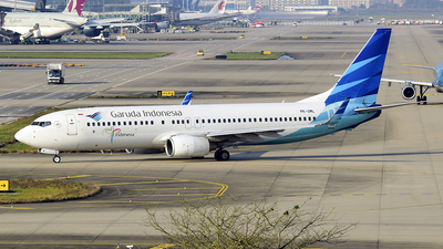 PK-GML - Boeing 737-8U3 - Garuda Indonesia