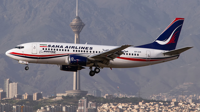 EP-SIR - Boeing 737-33V - Saha Air
