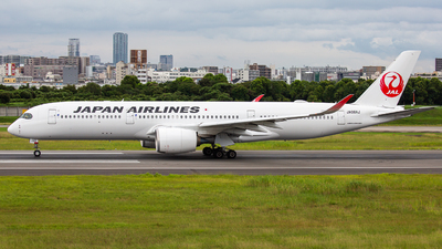 A picture of JA08XJ - Airbus A350941 - Japan Airlines - © Tokubee