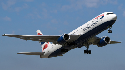 G-BNWT - Boeing 767-336(ER) - British Airways