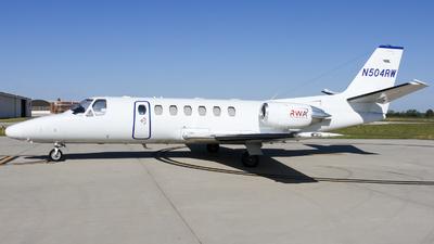 N504RW - Cessna 560 Citation Ultra - Red Wing Aeroplane