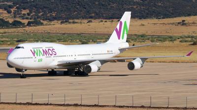 A picture of ECMQK - Boeing 7474H6 - [28427] - © Óscar López Herrero