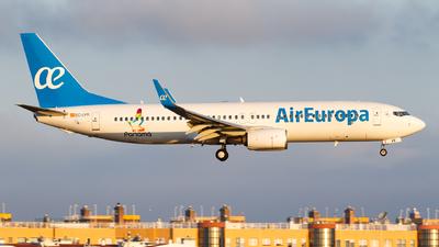 A picture of ECLYR - Boeing 73785P - Air Europa - © Matteo Lamberts